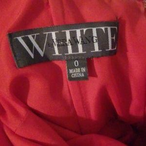 Gentle used Vera Wang red dress